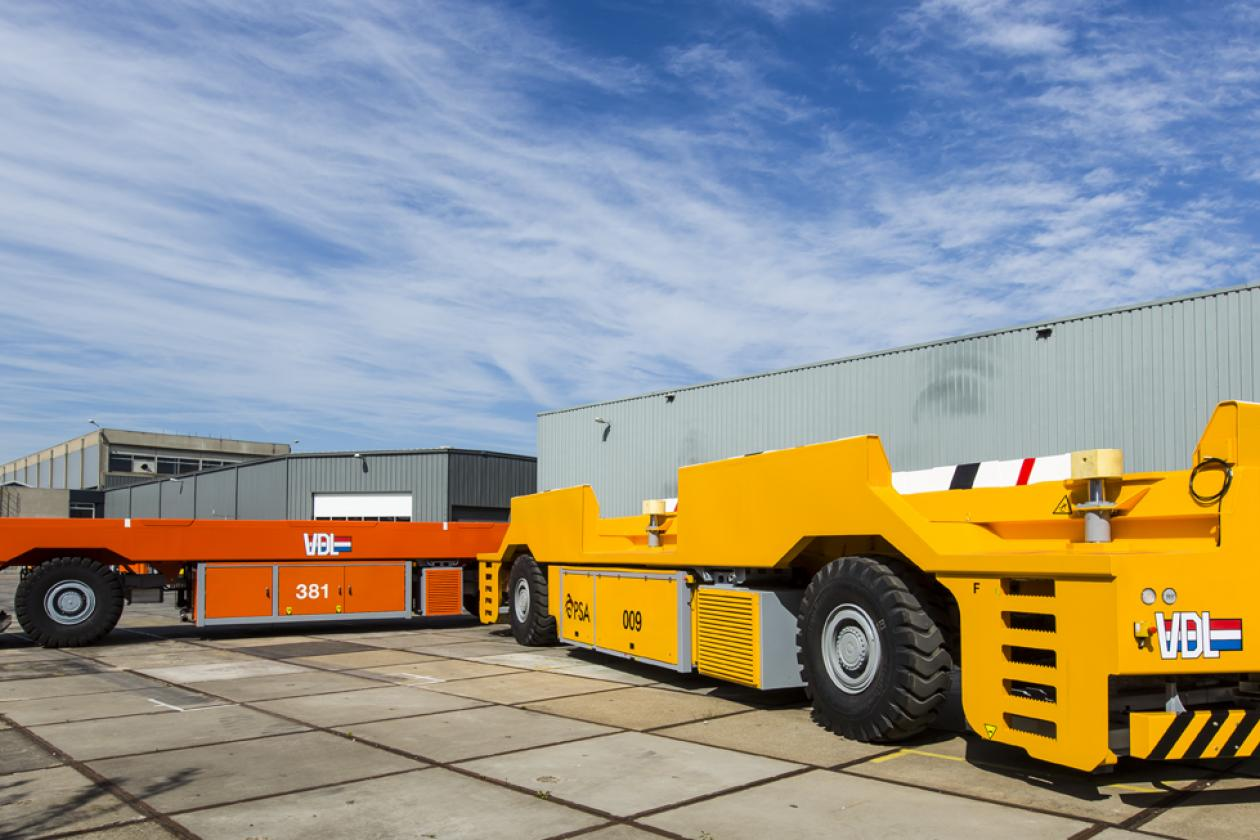VDL secures a mega order: 80 automated guided vehicles for Singapore